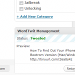 Forget TwitterUpdater Use WordTwit!